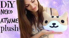 DIY Neko Atsume Plush Kawaii Cat: How To Make a Stuffed Animal- Sewing For Beginners