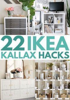 21 Ikea Kallax Hacks That You Need In Your Home Now Deco Chambre Parental Deco Rangement Deco Maison
