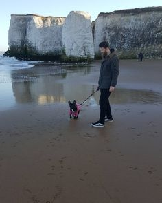 Take me back to the beach with my lovely little family  @staygold_prawn @miss_luna_frenchie #frenchie #lunafrenchie #luna #frenchbulldog #beach #love #dog #family