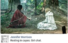 #swanqueen - From Jennifer Morrison's facebook account  #OnceUponATime #ouat #once