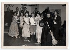 Happy Halloween! Here's what it looked like in decades past. All photos from the 1900s to the 1960s.