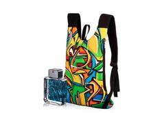 Conjunto Exclusivo - Desodorante Colônia + Mochila - Homens que se inspiram nas grandes cidades.