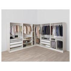 Corner Wardrobe PAX White Ikea Pax EckschrankIkea