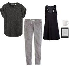A fashion look from May 2013 featuring Étoile Isabel Marant t-shirts, T By Alexander Wang tops and J.Crew activewear pants. Browse and shop related looks.