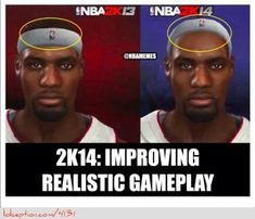 NBA 2K14: The Improvements! - http://weheartchicagobulls.com/nba-funny-meme/nba-2k14-the-improvements