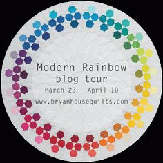 Modern Rainbow – 14 Imaginative Quilts That Play With Color by Rebecca Bryan (published by C&T Publishing Stash Books, 120 pages, $24.95) will be that book that modern quilters turn to fo…
