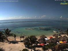Mañana soleada en #Mahahual #QuintanaRoo. 26° C en este momento: