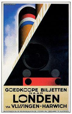 Vintage Travel Posters - Poster Vintage Linee Marittime Free download