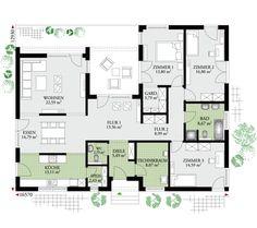 Die 109 Besten Bilder Von Bungalows Home Plans House Floor Plans