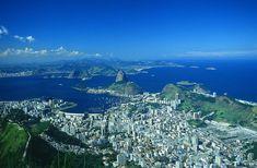 View from Corcovado. Rio de Janeiro