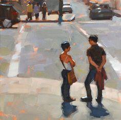 Carol Marine's Painting a Day: Casual Corner