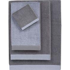Reversible Dusk Bath Towel in Bath Towels | Crate and Barrel
