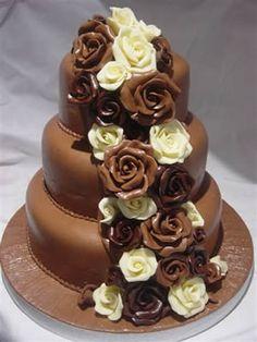 milk and white chocolate torte cake