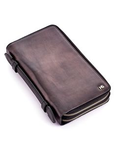 Tempo Nation Double Zip Travel Wallet   Wallets   H & S