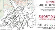 Musée Art Ludique - Studio Ghibli #Paris Exhibition