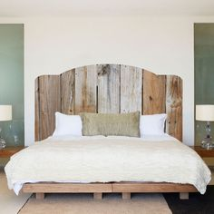 Rustic Wooden Headboard Mural Decal   Headboard Wall Decal Murals    Primedecals