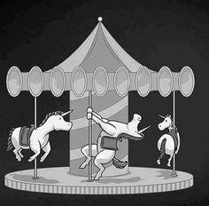 unicorn pole dance