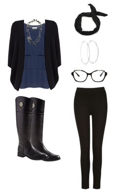 """""""Untitled #144"""" by joymelody90 on Polyvore featuring Mona Lisa, Phase Eight, Tory Burch, Chanel and Chico's"""
