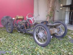 Not strictly conforming to the, cyclekart formula - a front engined machine