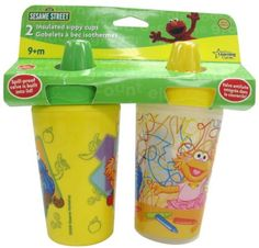 I'm learning all about The First Years' Sesame Street Insulator Cups at @Influenster!