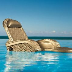 Extra-Large Adjustable Pool Chaise - Melon - Frontgate