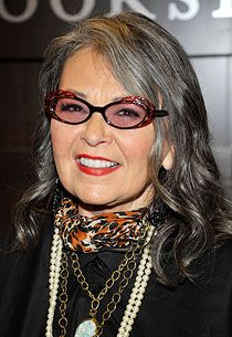 Roseanne and The Green Party Going Gray Gracefully, Aging Gracefully, Celebrity Gossip, Celebrity News, Hair No More, Roseanne Barr, Salt And Pepper Hair, Natural Highlights, Dye My Hair
