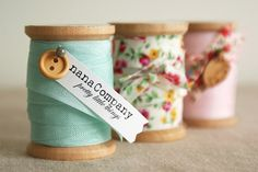 pretty spools by nanaCompany, via Flickr