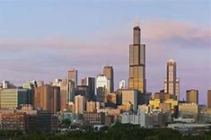 Art Print of Image of Willis Tower and skyline of Chicago at sunset. Search 33 Million Art Prints, Posters, and Canvas Wall Art Pieces at Barewalls. Route 66, Santa Monica, Willis Tower Skydeck, Missouri, Grand Canyon, Westerns, World Trade Center Site, Las Vegas, Art Public