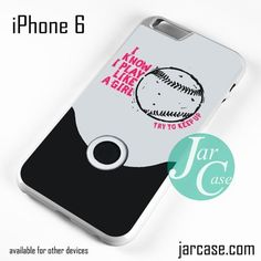 Softball Quotes - Z Phone case for iPhone 6 and other iPhone devices