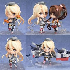 From the popular browser game Kantai Collection -KanColle- comes a Nendoroid of the USA battleship Iowa! She comes with three face plates including a standard expression a half-damaged expression as well as a laughing expression! The Nendoroid-style figure stands approx. 10 cm tall and comes with base and figure stand. Pre-order now @animegamistore Available May 2017 http://ift.tt/2fvHOOr #Nendoroid #Kantai #Collection #Collectible #iowa #kantaicollection #anime #manga #figure…