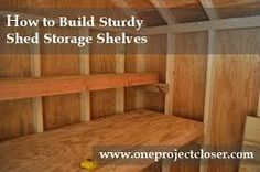 images about Shed Storage on Pinterest Sheds Shed