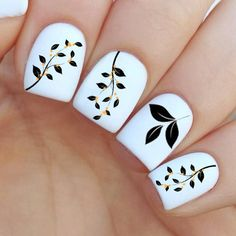 Spring Tree Nail Decal by MilieNailsCreation on Etsy