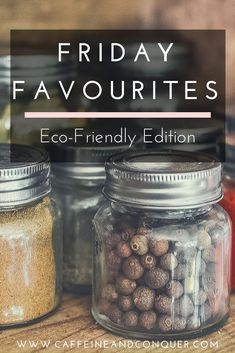 This week's Friday Favourite's post is all about my number-one natural and zero-waste resources (as of this moment, because the list is always growing). #zerowaste #greenliving #sustainable