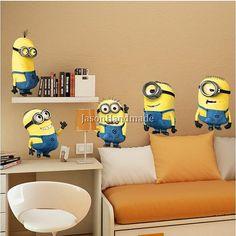 9 Best Minion Bedroom Ideas images | Minion bedroom, Minion nursery ...