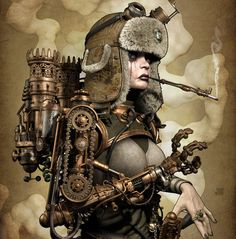 Steampunk its more than an aesthetic style, it's the longing for the past that never was. In Steampunk Girls we display professional pictures, and illustrations of Steampunk, Dieselpunk and other anachronistic 'punks. Some cosplay too! Couture Steampunk, Steampunk Artwork, Mode Steampunk, Steampunk Wallpaper, Steampunk Fashion, Steampunk Clothing, Steampunk Female, Steampunk Cosplay, Diesel Punk