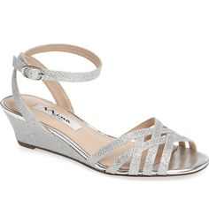 Main Image - Nina Faria Ankle Strap Sandal (Women)