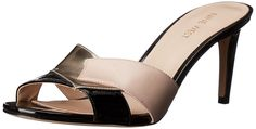 Nine West Women's Andryna Synthetic Slide Sandal -- Remarkable product available now. : Slides sandals