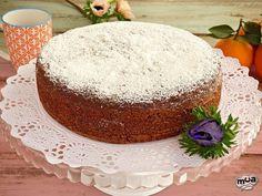 Bunt Cakes, Cupcake Cakes, Yogurt, Cheesecake Bites, Dessert Recipes, Desserts, Homemade Cakes, Sin Gluten, Vanilla Cake