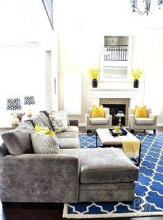 Gut Beige Und Blau Wohnzimmer