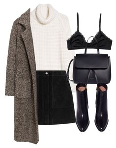 Untitled #6294 by laurenmboot on Polyvore featuring polyvore, moda, style, MANGO, rag & bone, Monki, Mansur Gavriel, fashion and clothing