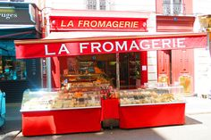 A typical 'fromagerie' in Paris, a shop specializing only in fine cheese
