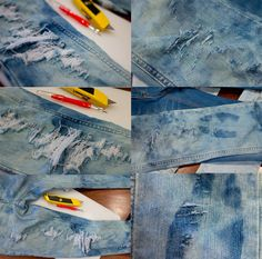 Peony ♥ Lim: The Ultimate DIY Distressed Jeans Guide