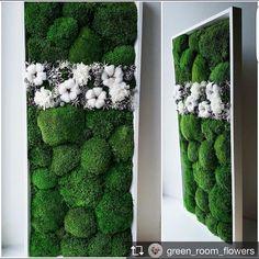 Идея тем, кто не знает, что подарить близким на #новыйгод  картина из стабилизированного мха, натуральный, экологичный и долговечный… Moss Wall Art, Moss Art, Unique Wall Art, Diy Wall Art, Diy Art, Arte Floral, Floral Wall, Moss Graffiti, Moss Decor
