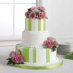Hatbox Wedding Cake