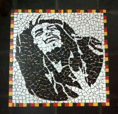 Mosaico Bob Marley