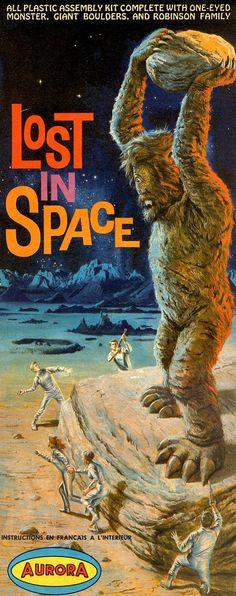 Aurora - Lost In Space (Cyclops Model Kit), 1966.