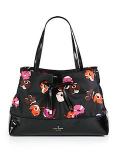 Kate Spade New York West Valley Printed Mixed-Media Maryanne Tote