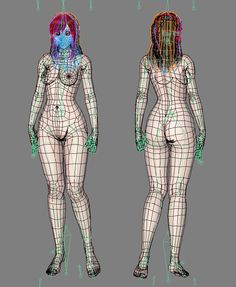 Character Poses, Character Modeling, 3d Character, Character Design, Maya Modeling, Modeling Tips, Surface Modeling, Female Reference, Figure Drawing Reference