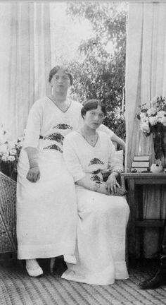 Maria and Tatiana of Russia