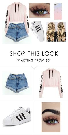 """#4"" by stowies74 on Polyvore featuring adidas Originals and Sonix"